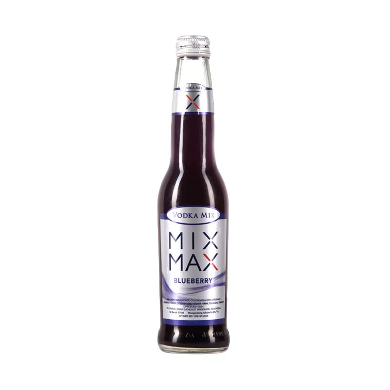 MIX MAX Blueberry Minuman [275 mL]
