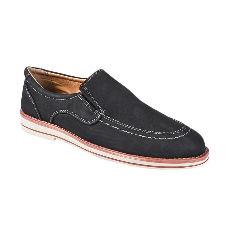 harga Bata Nagoya Casual 8516464 Sepatu Pria - Black Blibli.com