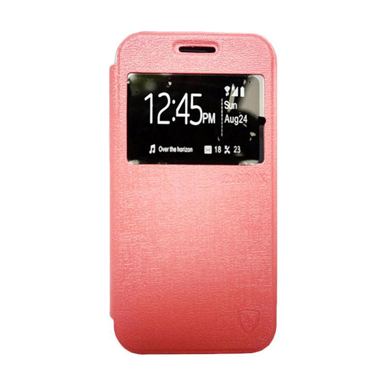Zagbox Flip Cover Casing for iPhone 7 4.7 Inch - Pink