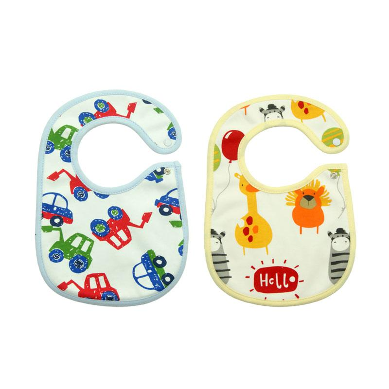 Bearhug Car & Animal Set Slaber Bayi