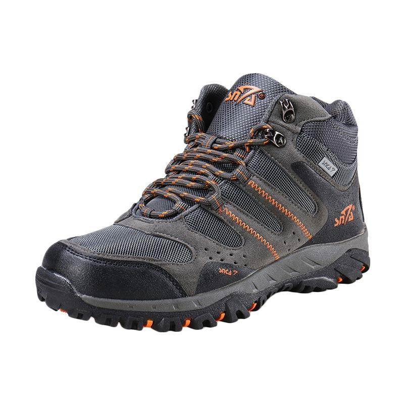 Snta 490 Sepatu Gunung - Grey Orange
