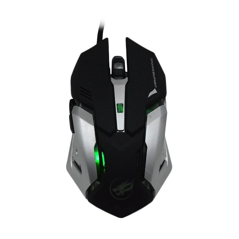 Warwolf T-1 Gaming Mouse - Hitam