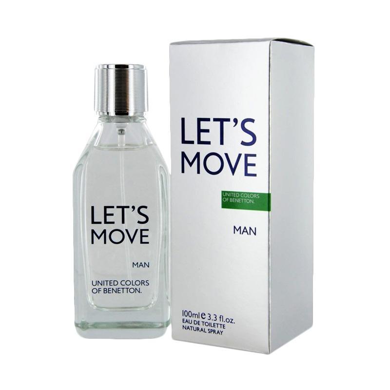Benetton Lets Move Men EDT Parfum Pria [100 mL]