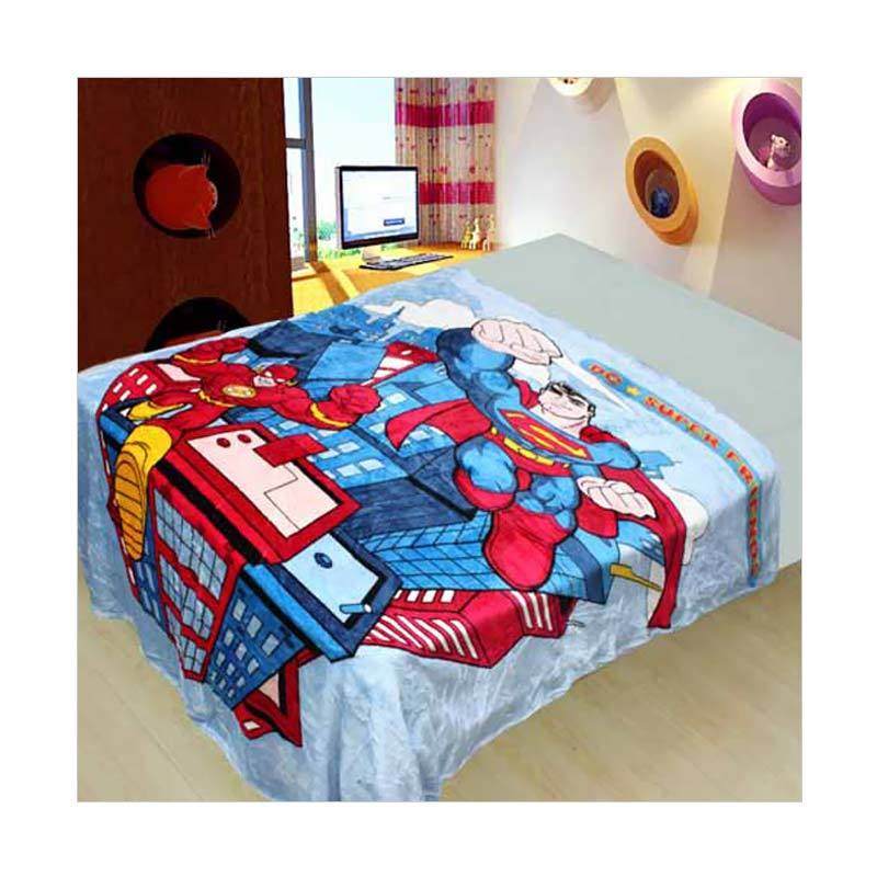 Chelsea Superman DC Selimut [150x200 cm]
