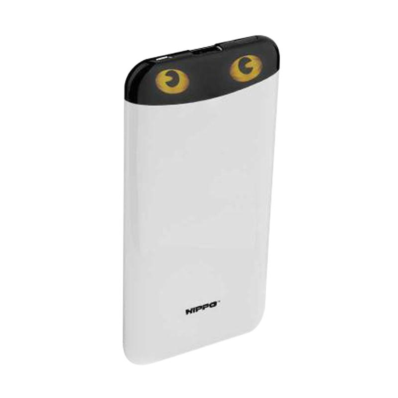 Hippo Eyes Powerbank - Putih [7000 mAh]