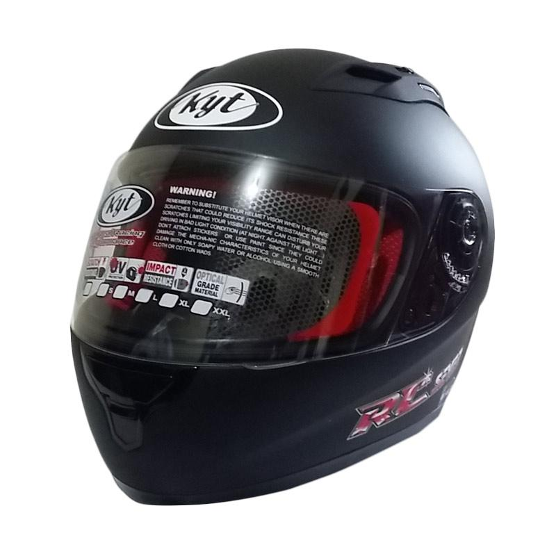 KYT RC Seven Helm Full Face Black Doff