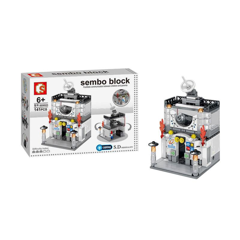Sembo SD6523 Scince Center Mini Blocks