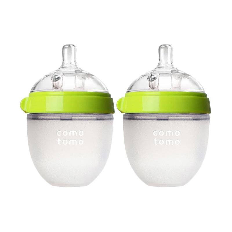 Comotomo Botol Susu - Green [150 mL/Twin Pack]