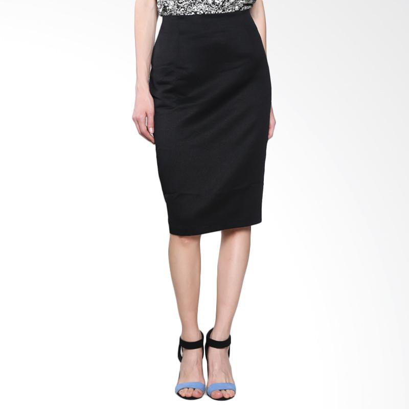 PS Career PC204LB60094 Midi Skirt - Black