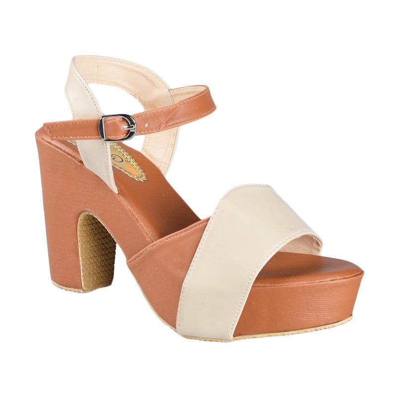 Sepatu SN-064 High Heels Wanita - Brown