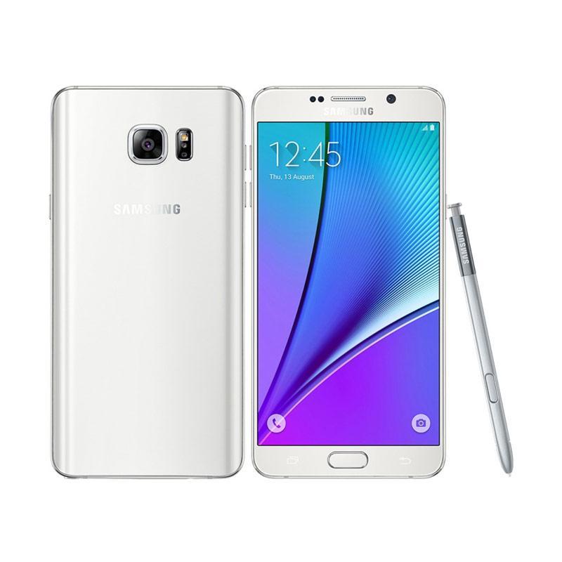Samsung Galaxy Note 5 Smartphone - White [64GB/ 4GB]