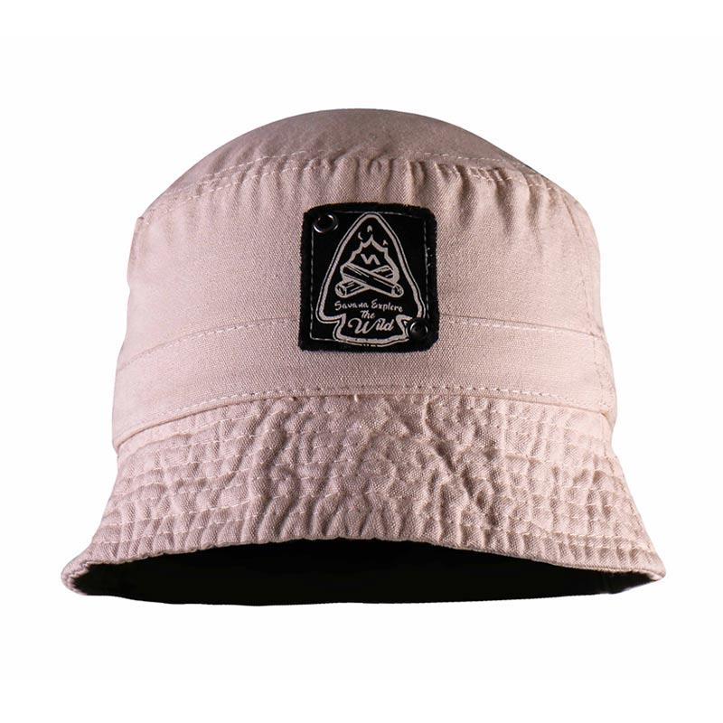 Savana Children Cotton Canvas Hat - Khaki