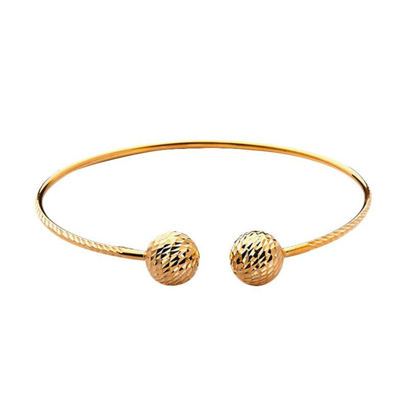 Gold Bangle - Gelang Emas Kadar 75-WHIZLIZ