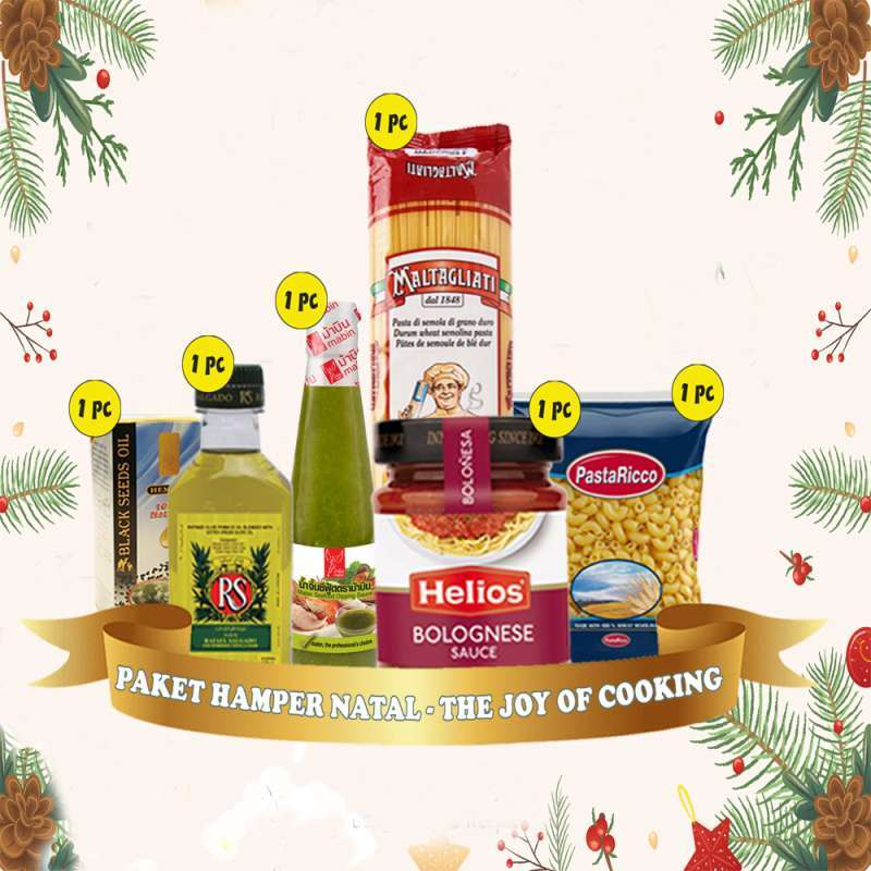 Jual Paket Hamper Natal The Joy Of Cooking Online Februari 2021 Blibli