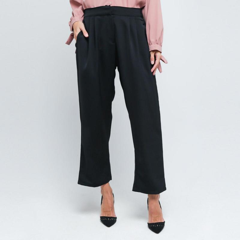 Marchemode Sassy Pants B01 Celana Wanita Black
