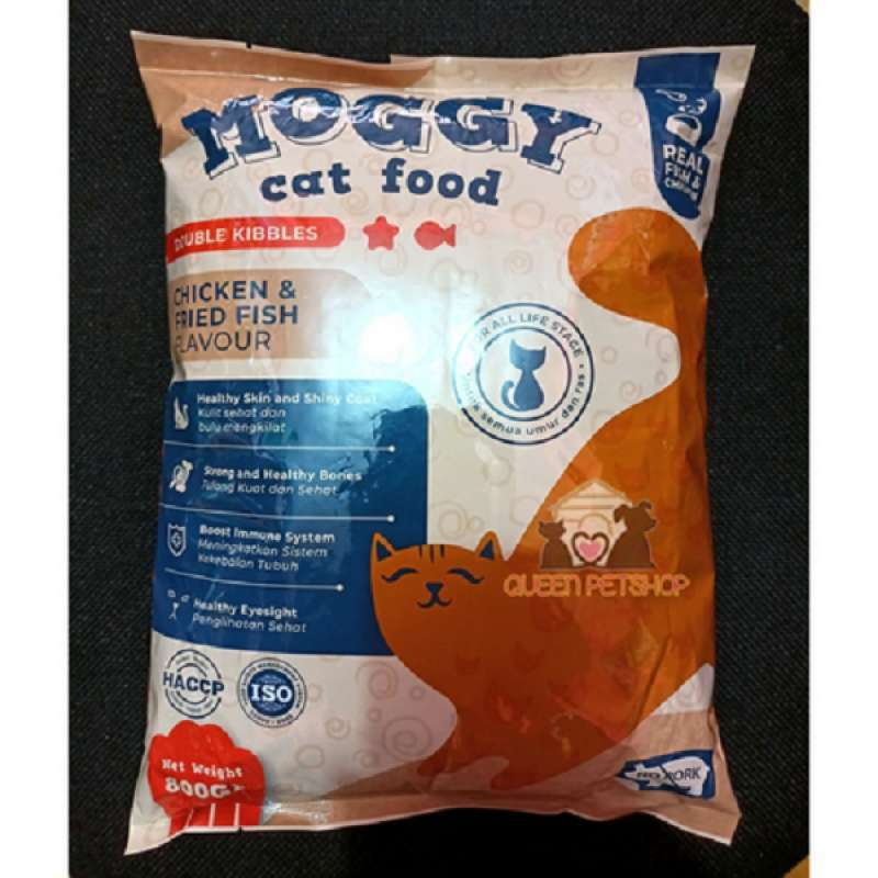 Makanan kucing MOGGY freshpack 800gram MOGGY cat food freshpack