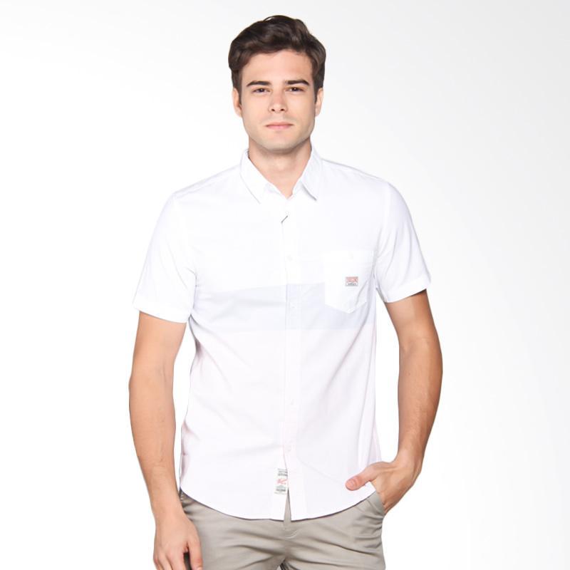 3SECOND Shirt Pria - White 108051711