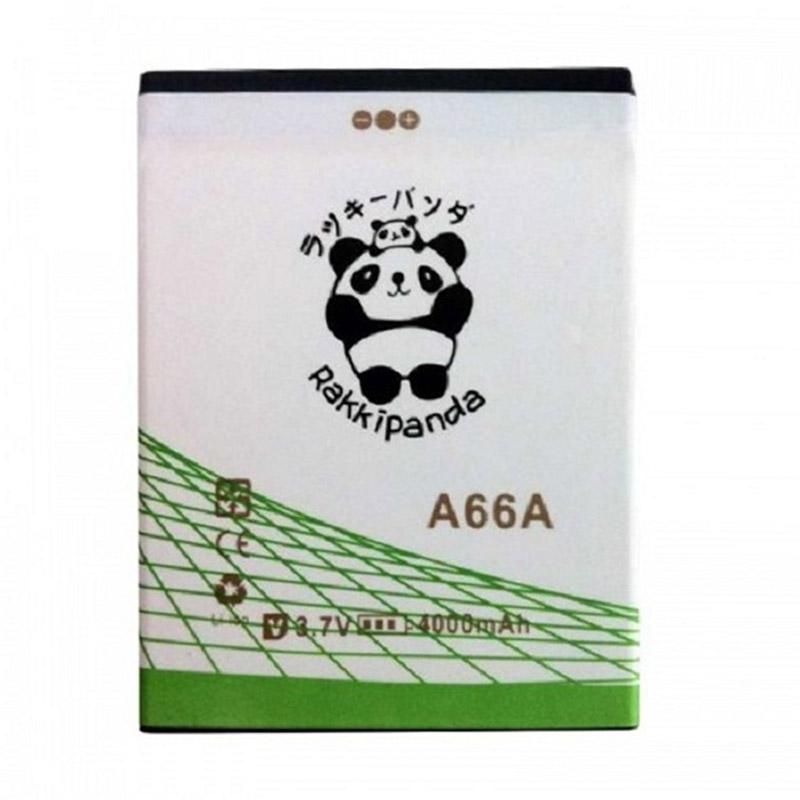 RAKKIPANDA Double Power IC Battery for Evercoss A66A