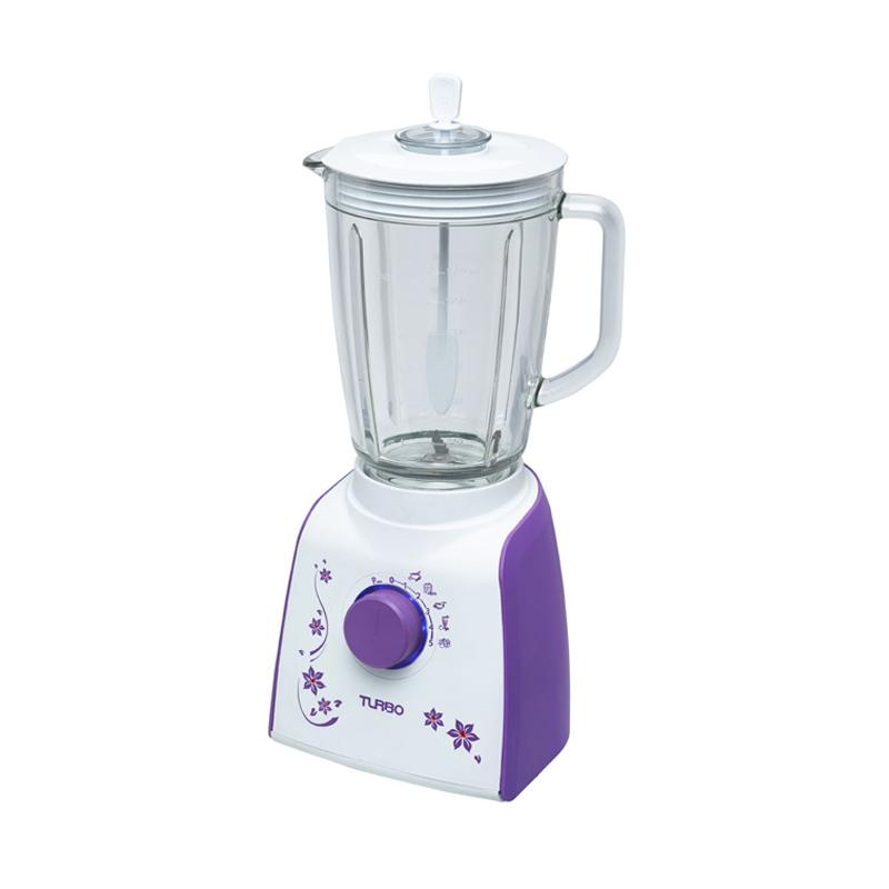 Turbo EHM8099-2 Plastic Blender - Ungu