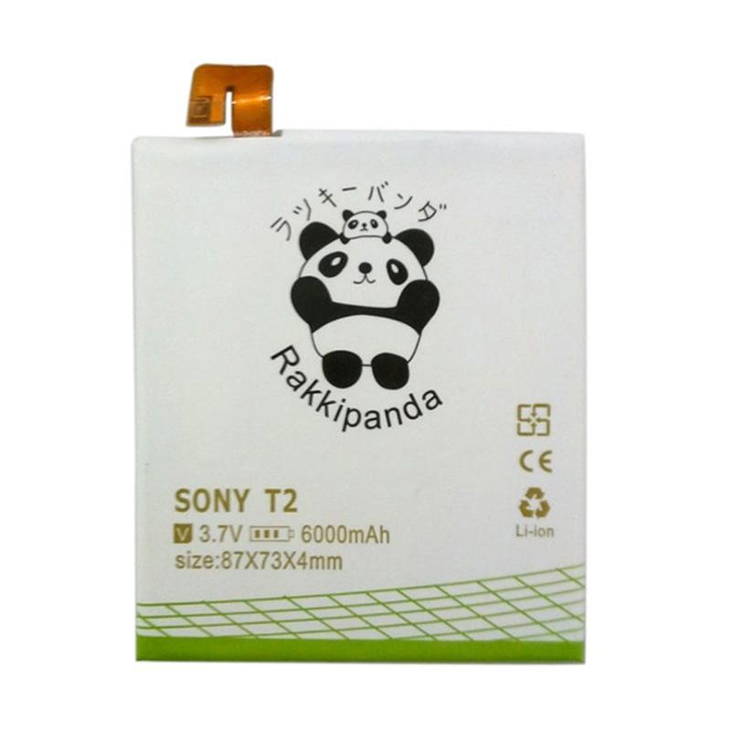 RAKKIPANDA Double Power IC Battery for SONY Xperia T2 Ultra