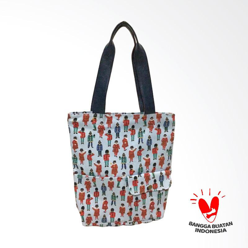 Dinary Tote Bags - Blue Army