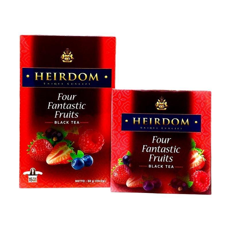 HEIRDOM Four Fantastic Fruits Tea [15 Tea Bags]