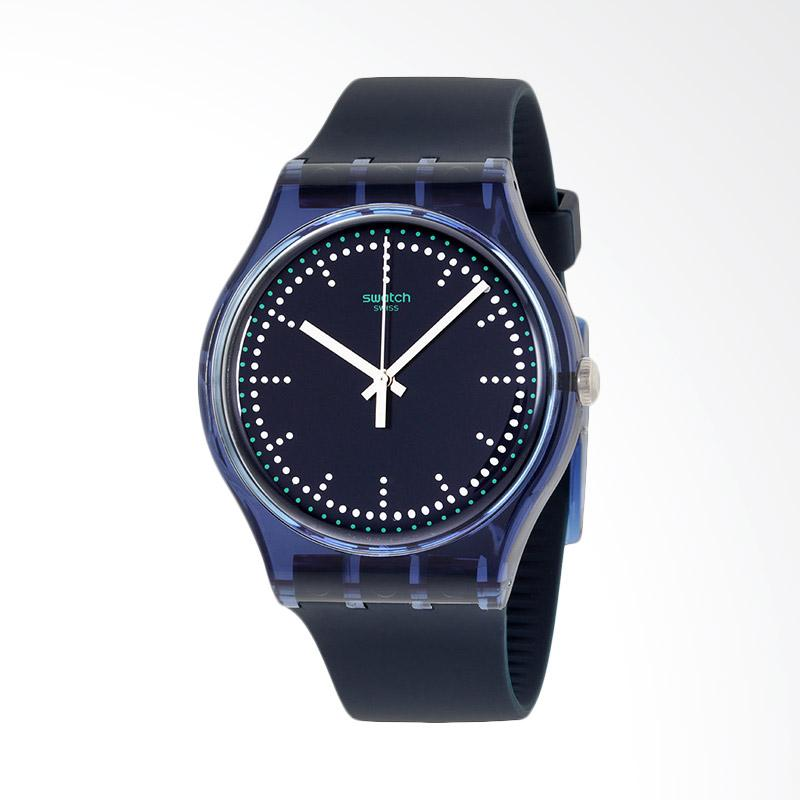 Swatch Blue Pillow Jam Tangan Pria - Biru Tua SUON121