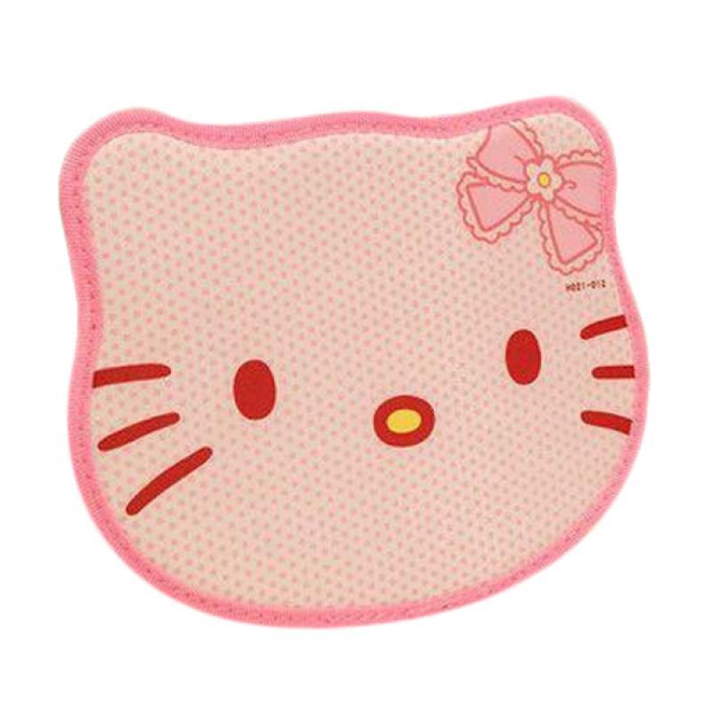 Hello Kitty Head HK Mousepad - Pink