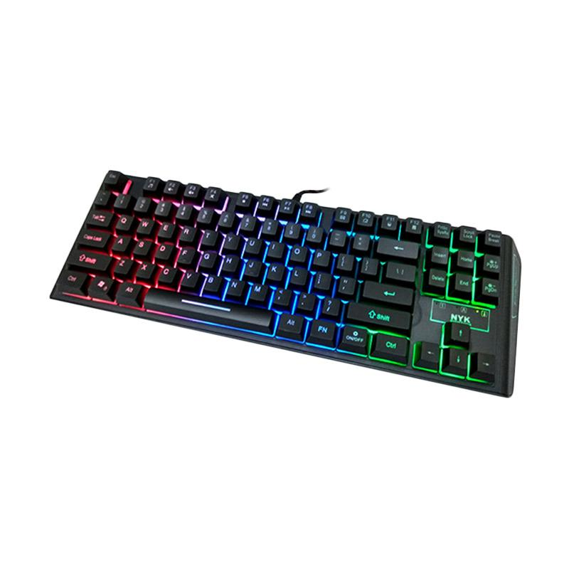 NYK TKL LED K-06 Gaming Keyboard - 9314694 , 17083708 , 337_17083708 , 160000 , NYK-TKL-LED-K-06-Gaming-Keyboard-337_17083708 , blibli.com , NYK TKL LED K-06 Gaming Keyboard