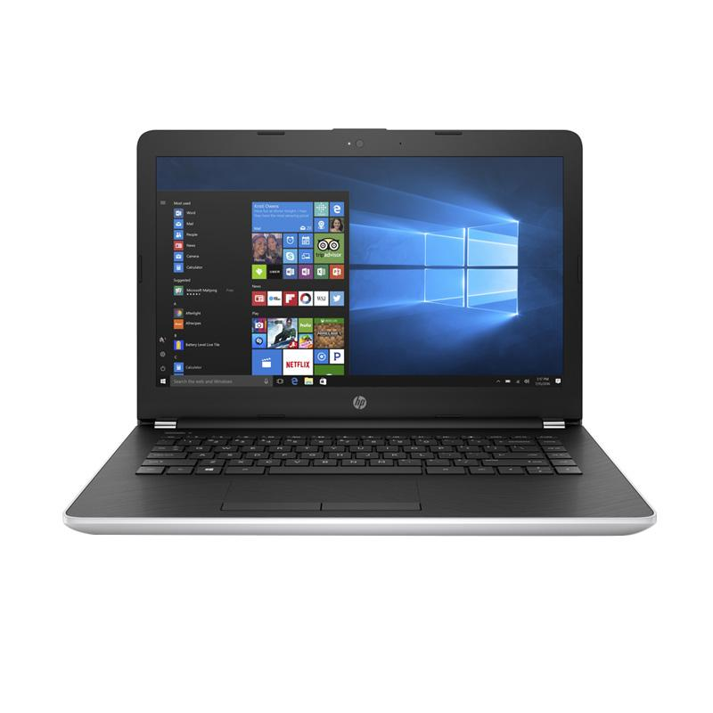 HP 14-bs005TU Notebook - Silver [14 inch/N3060/4GB/500GB/Win 10]