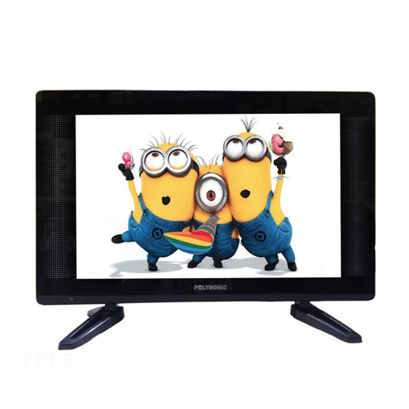 Polysonic 1892i Wide LED TV - Hitam [19 Inch]