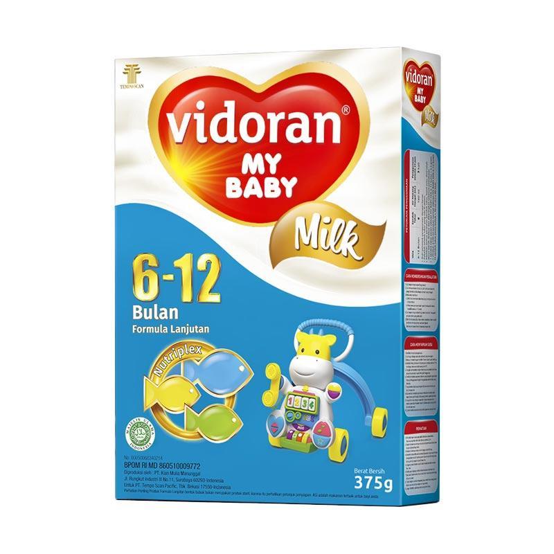 Vidoran My Baby Nutriplex Susu Formula 6 - 12 bulan [375 g]