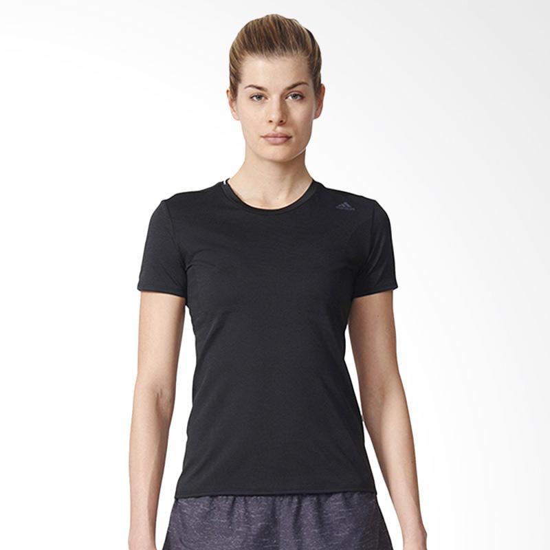 adidas Supernova Women's Tee Kaos Olahraga Wanita - Black S94414