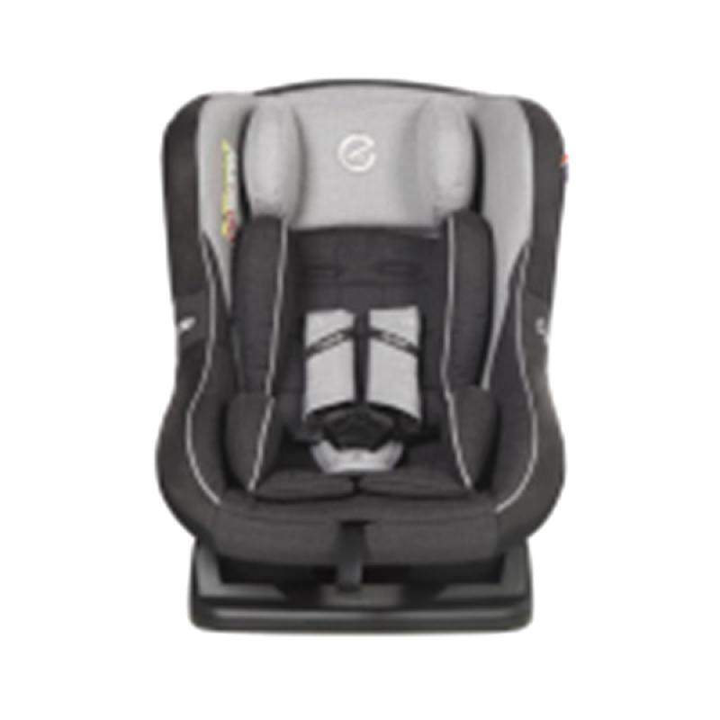 Oyster OY-363-ST Aries Pure Silver Tungsten Carseat - Grey