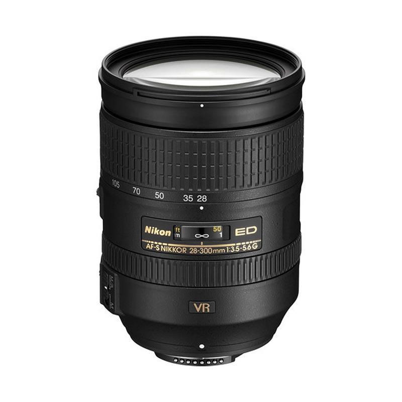 Nikon AF-S VR 28-300 mm f/3.5-5.6 G ED Lensa Kamera RESMI PT ALTA NIKINDO