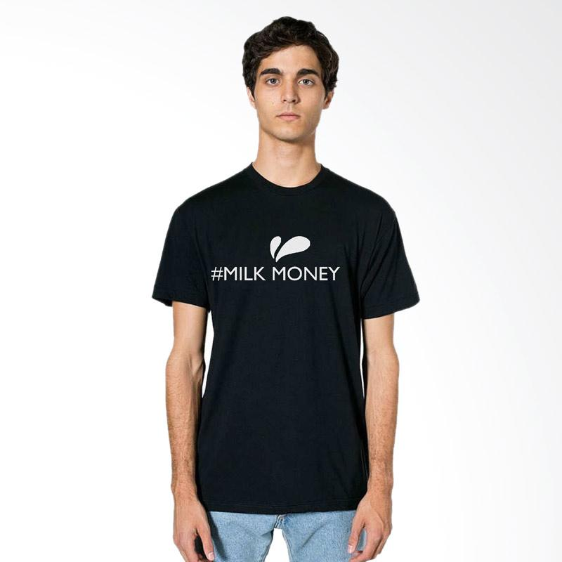 FRAW T-shirt Kaos Pria - Black 04-17