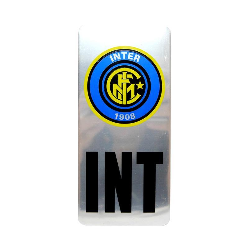 SIV EMB-P12 Klub Bola Inter Milan Emblem Universal Plat Nomor Mobil
