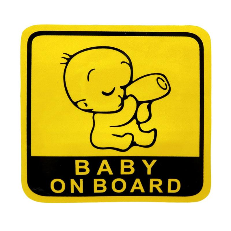 SIV STI-BABY03 Baby on Board Sticker Universal