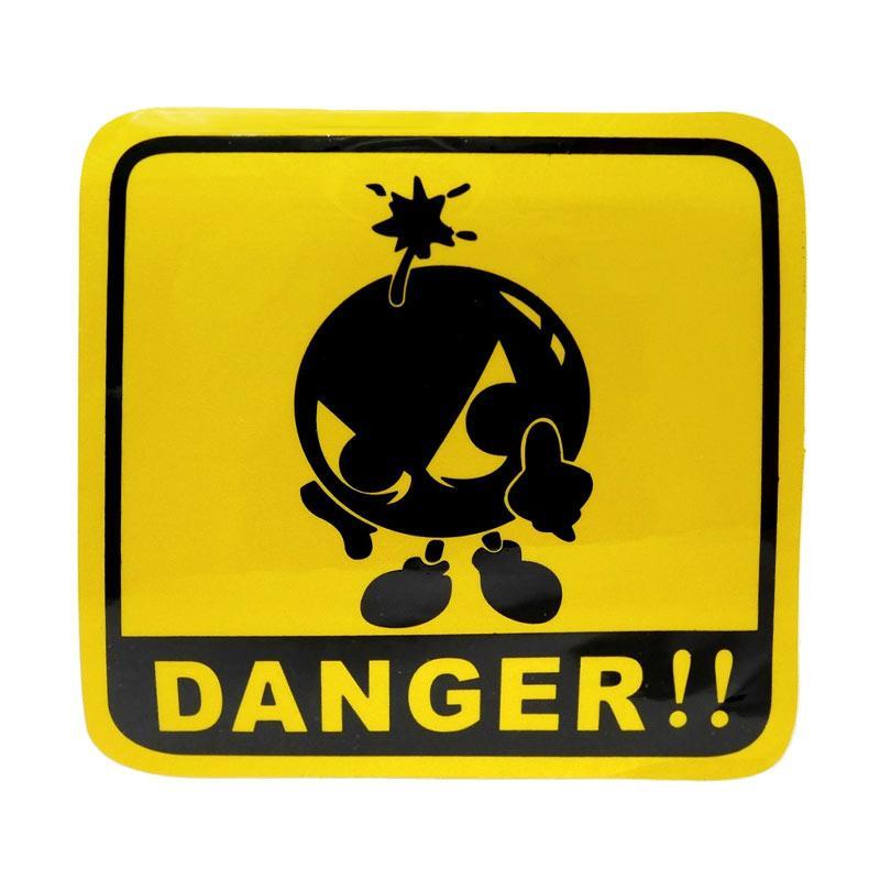 SIV Danger Sticker Universal