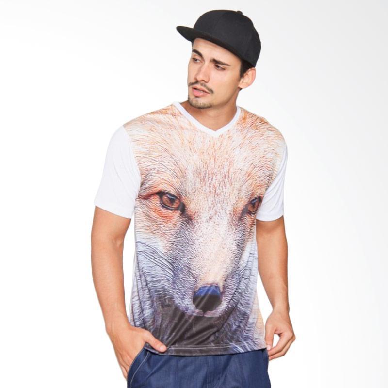 EpicMomo Fox1 T-Shirt - White AD.00113