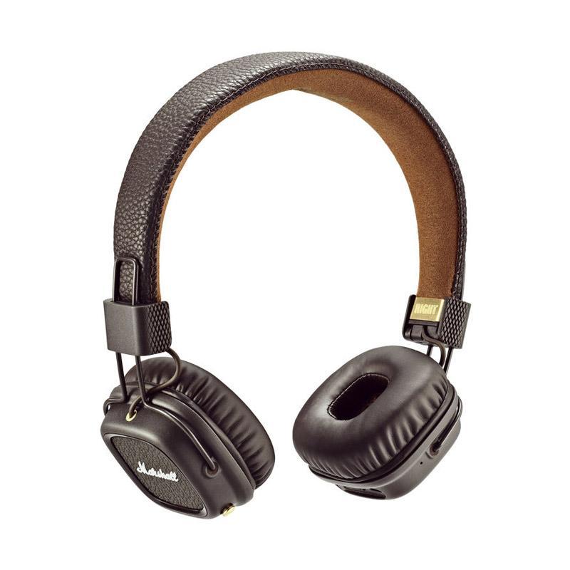 Marshall Major II Bluetooth Headset - Brown