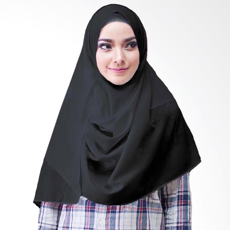 Milyarda Hijab Paloma Diamond Hijab Instan - Hitam