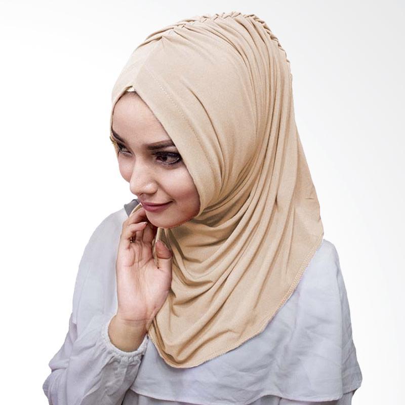 Milyarda Hijab Medirala Jilbab Instan - Coklat susu