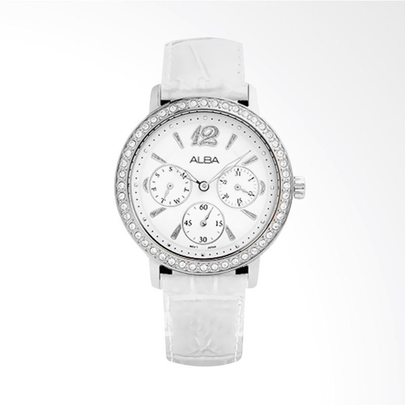 Alba AP6089X1 Jam Tangan Wanita - Silver White