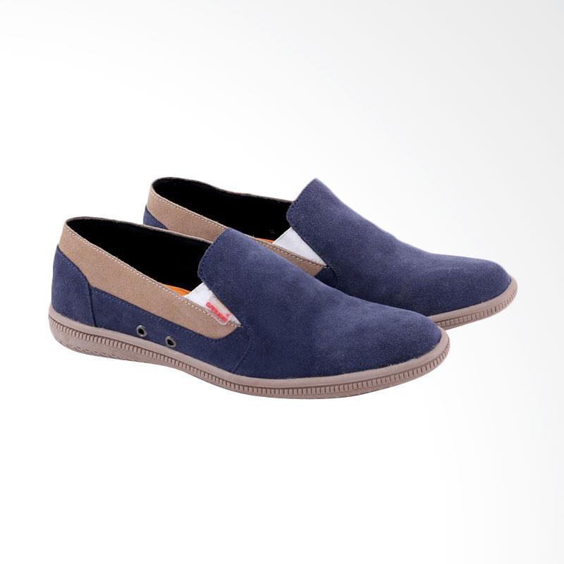 Garucci Slip On Shoes Pria - Blue GCN 1250