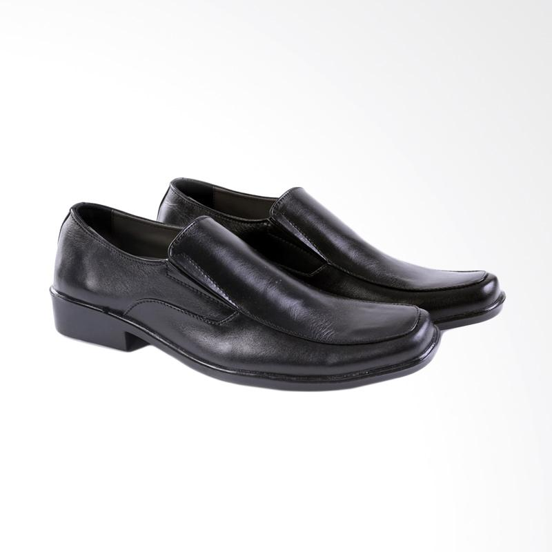 Garucci Formal Shoes Pria - Black GU 0364
