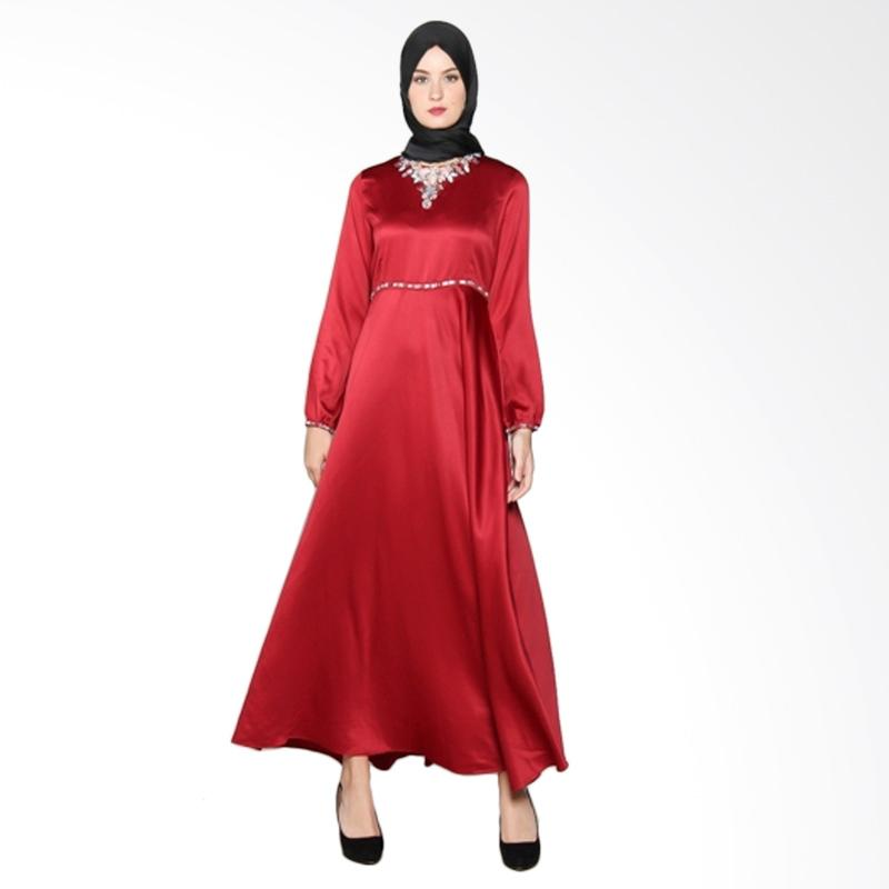 Yanna Azwar Amanda New Dress - Red