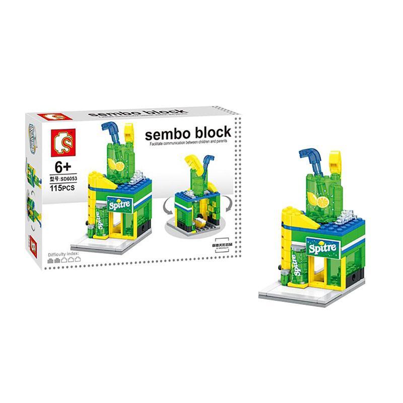 Sembo Sd6053 Spitre Mainan Mini Blocks