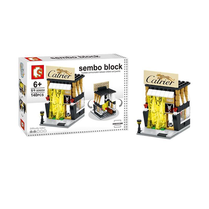 Sembo Sd6054 Catrier Mainan Mini Blocks