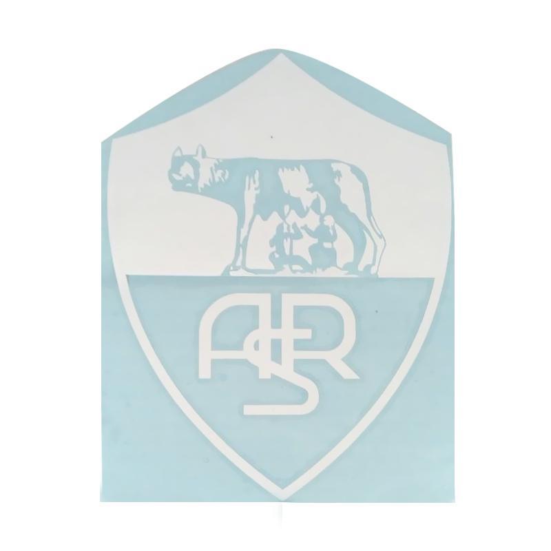 OEM Logo AS Roma Stiker Siluet Kaca Body Mobil